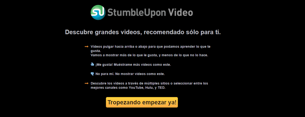 StumbleUpon Video