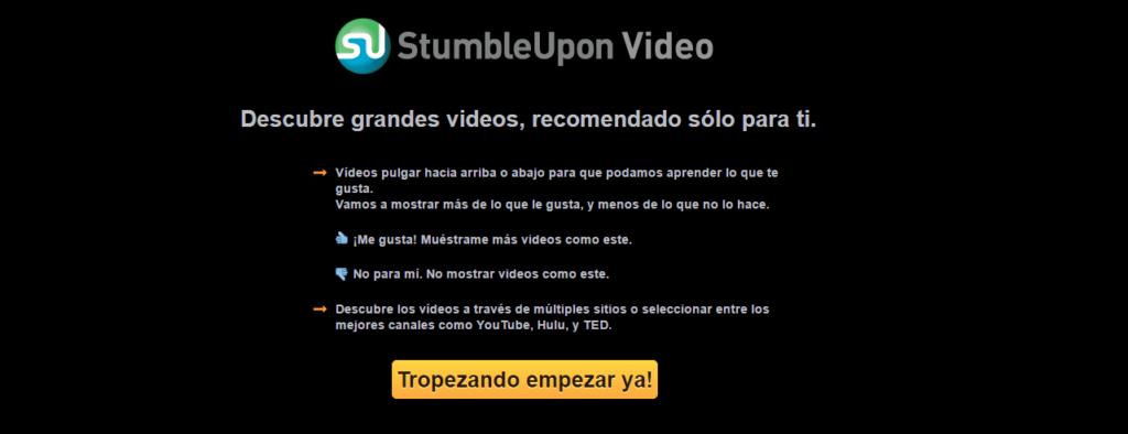 StumbleUpon Video