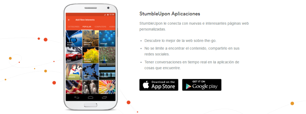 Stumbleupon para android