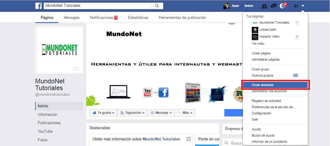 publicar-facebook-ads