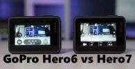 GoPro Hero6 vs Hero7