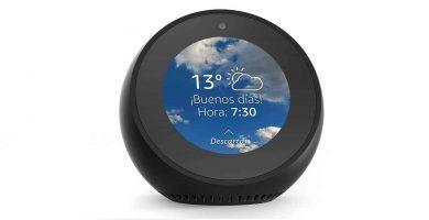 Echo Spot Altavoz inteligente con pantalla