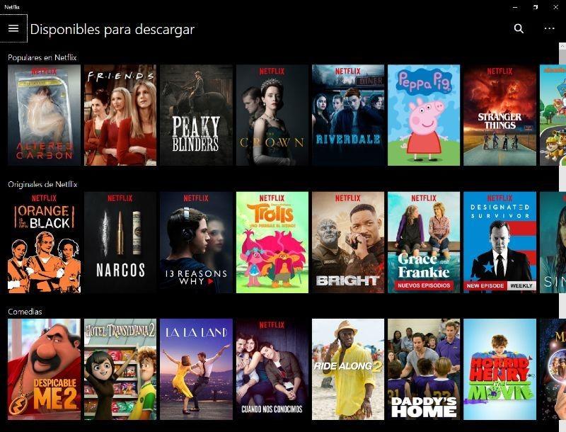 Netflix películas