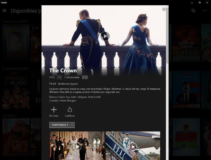 contratar Netflix películas