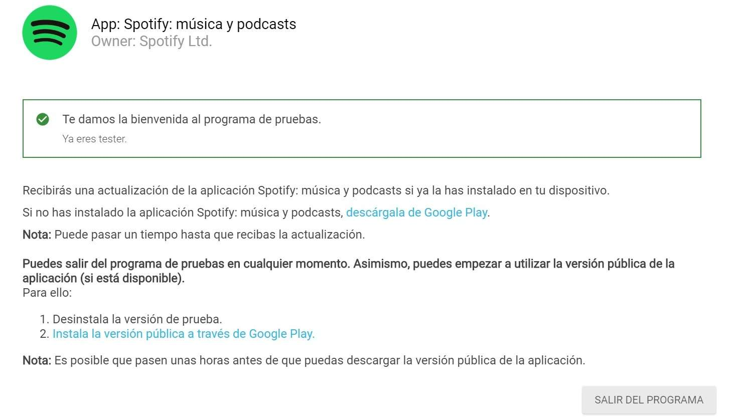Spotify: música y podcasts